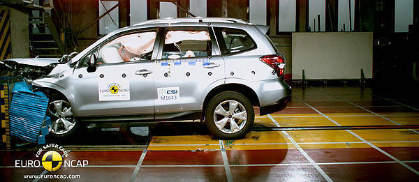 TopGear.com.ph Philippine Car News - All-new Subaru Forester receives Euro NCAP's five-star rating