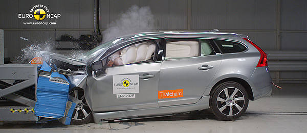 TopGear.com.ph Philippine Car News - Volvo V60 Plug-in Hybrid receives highest-ever Euro NCAP safety score