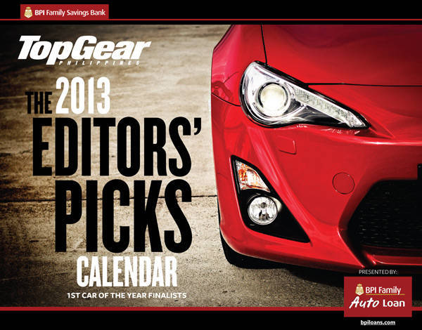 2013 Top Gear Philippines calendar