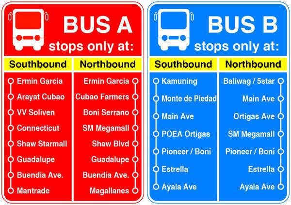 TopGear.com.ph Philippine Car News - MMDA's EDSA bus segregation scheme starts today