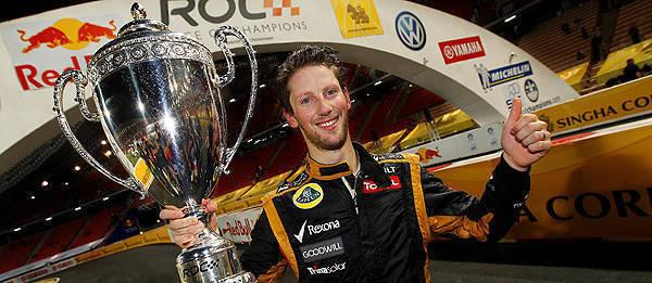 TopGear.com.ph Philippine Car News - Grosjean wins 2012 Race of Champions