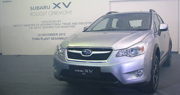 TopGear.com.ph Philippine Car News - Motor Image begins assembly of RHD Subaru XV in Malaysia