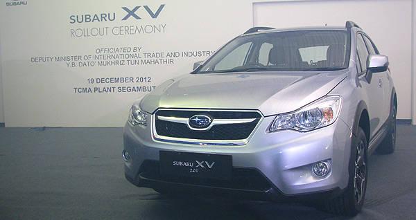TopGear.com.ph Philippine Car News - Motor Image begins assembly of RHD Subaru XV in Malaysia