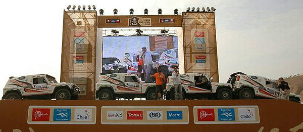 TopGear.com.ph Philippine Car News - Disabled British soldiers join 2013 Dakar Rally
