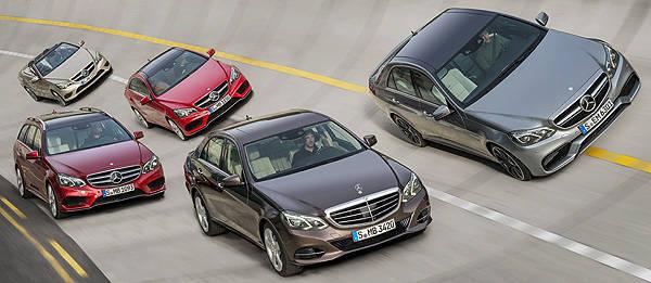 TopGear.com.ph Philippine Car News - Detroit 2012: Mercedes-Benz to present entire updated E-Class lineup