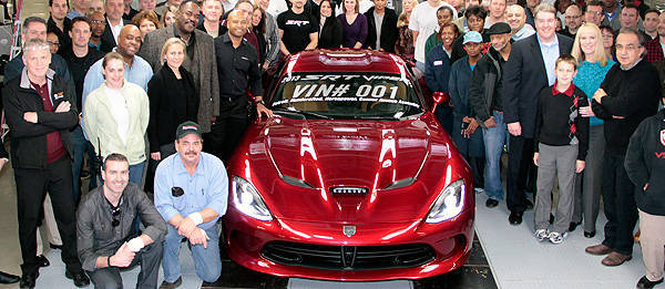 TopGear.com.ph Philippine Car News - SRT rolls out, presents first all-new Viper to owner