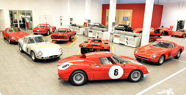 TopGear.com.ph Philippine Car News - Five Ferrari 250 GTOs now undergoing restoration