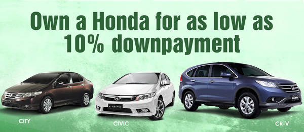 TopGear.com.ph Philippine Car News - Honda Cars PH expands its financing program