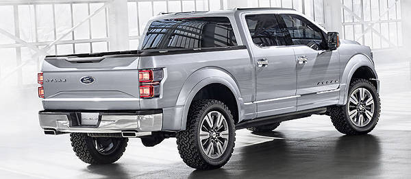TopGear.com.ph Philippine Car News - Detroit 2013: Ford shows off the future of its pickups