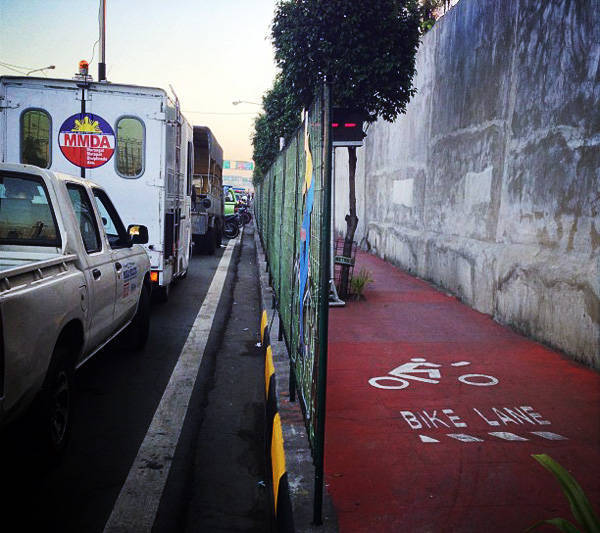 MMDA's bike lane project
