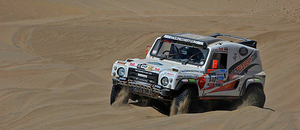 TopGear.com.ph Philippine Car News - Disabled British soldiers successfully complete 2013 Dakar Rally