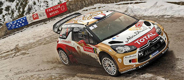 TopGear.com.ph Philippine Car News - Semi-retired Sebastien Loeb wins 7th Monte Carlo Rally
