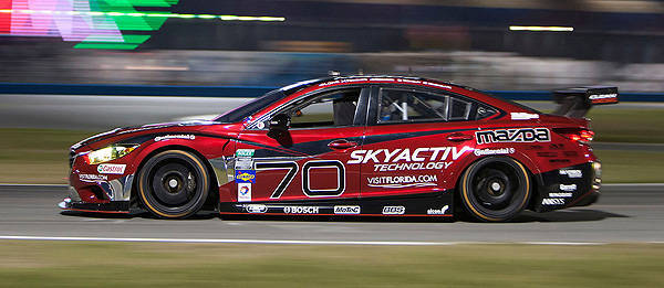 Diesel Powered Mazda 6 Race Cars Compete In Endurance Contest