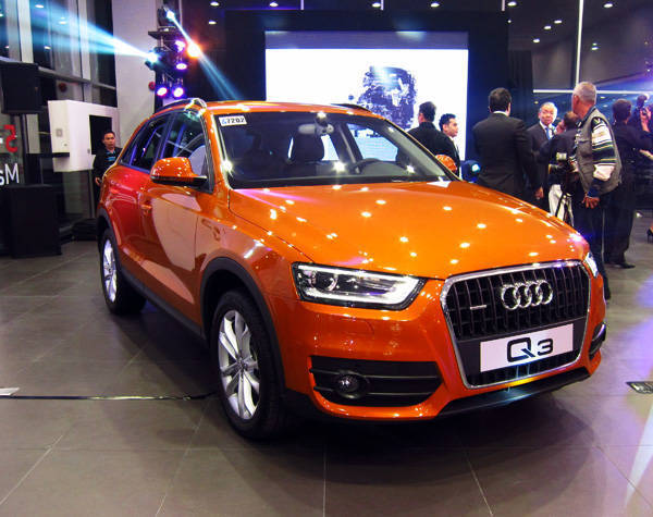 PGA Cars launches Audi Q3 crossover