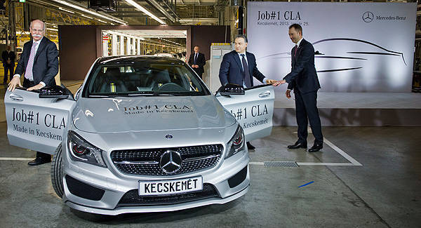 TopGear.com.ph Philippine Car News - First production-model Mercedes-Benz CLA rolls off assembly line