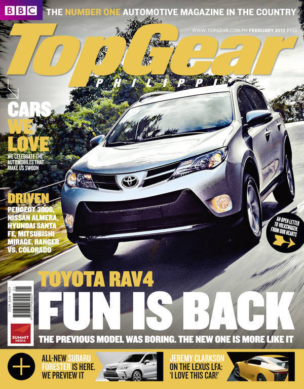 Top Gear Philippines' February 2013 issue