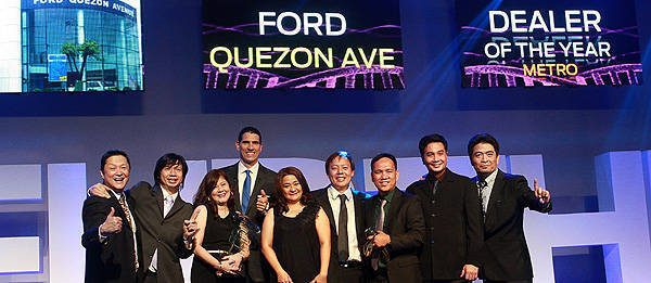 TopGear.com.ph Philippine Car News - Ford PH honors top achievers of its dealer network