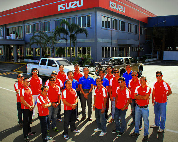 Isuzu D-Max Cycling Team
