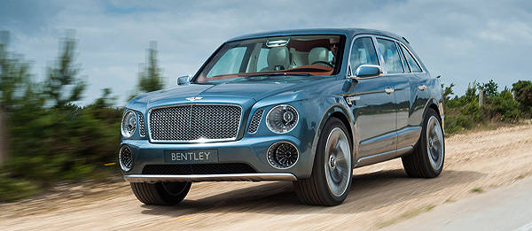 TopGear.com.ph Philippine Car News - Bentley SUV approved for production