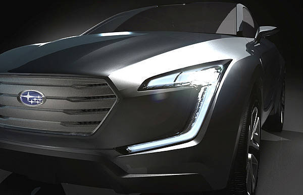 TopGear.com.ph Philippine Car News - Subaru concept vehicle to show off brand's future design direction