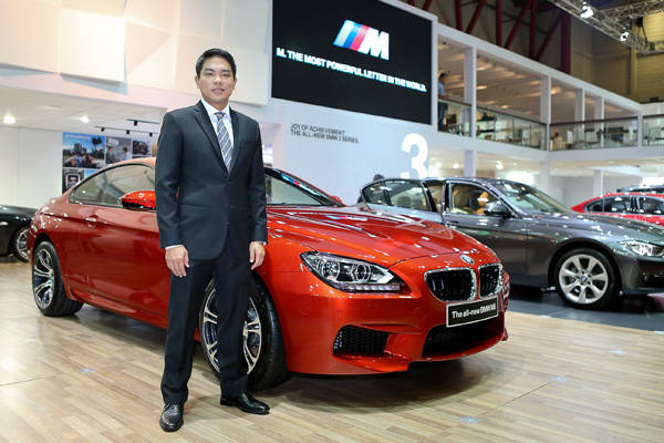 BMW Indonesia sales and marketing VP Sunny Medalla