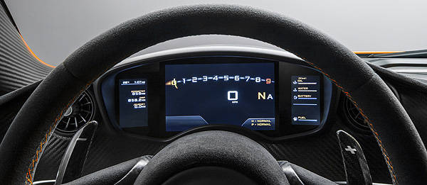 TopGear.com.ph Philippine Car News - McLaren finally shows off interior of P1