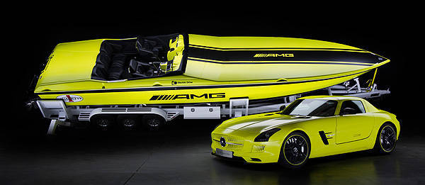 TopGear.com.ph Philippine Car News - Mercedes-AMG partners with boat maker to create world's most powerful electric powerboat
