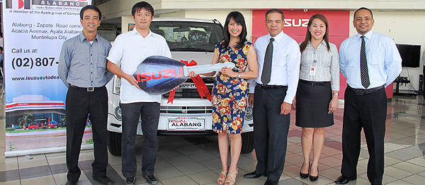 TopGear.com.ph Philippine Car News - TV5 wins brand-new D-Max in Isuzu PH's 15 anniversary promo