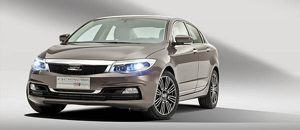 TopGear.com.ph Philippine Car News - Qoros shows off interior, styling details of GQ3 compact sedan