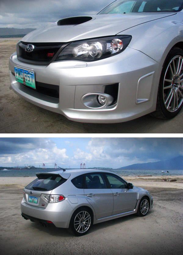 Subaru WRX STI Styling
