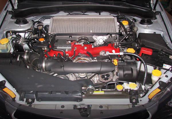 Subaru WRX STI Engine