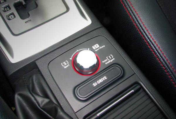 Subaru WRX STI Extra Features