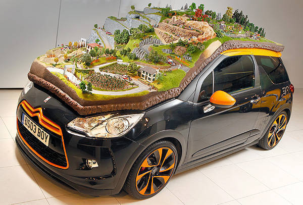 TopGear.com.ph Philippine Car News - Citroen reveals diorama honoring Loeb and Elena's nine WRC titles