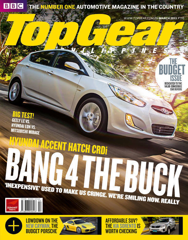 Top Gear Philippines' March 2013 issue
