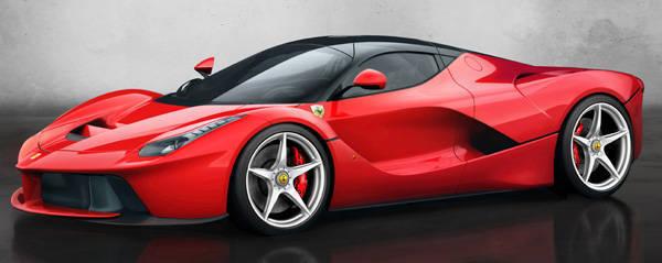 Geneva 2013 Ferrari Unveils Limited Edition Car Called Laferrari