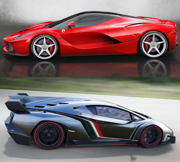 Poll: LaFerrari vs. Veneno