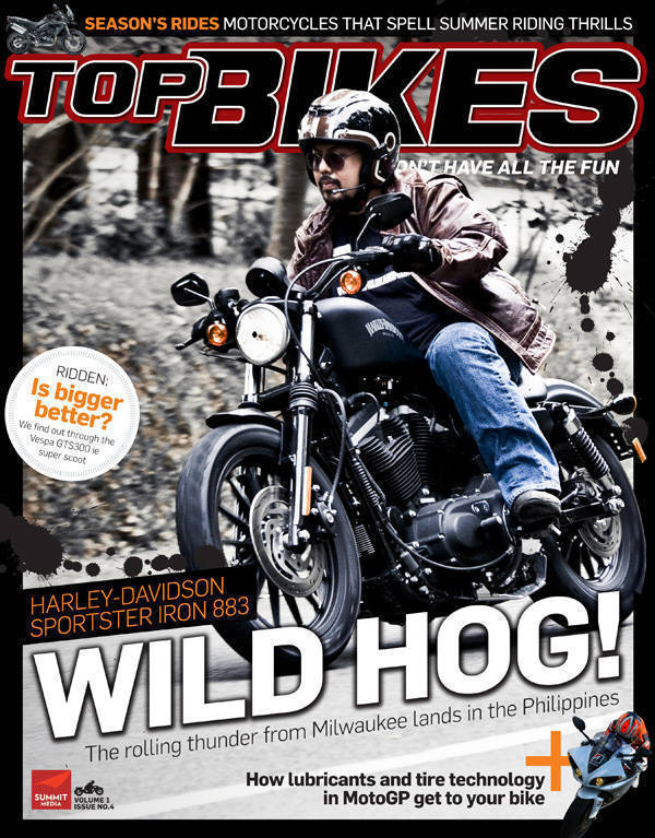 Top Bikes magazine
