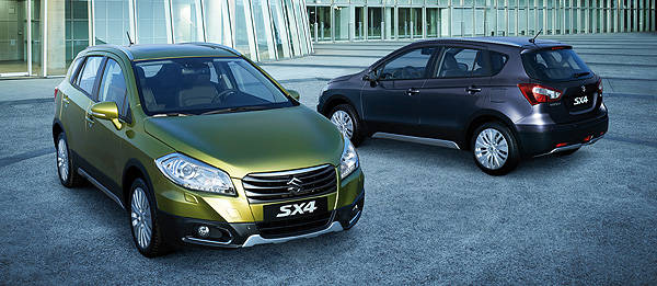 TopGear.com.ph Philippine Car News - Geneva 2013: Suzuki presents all-new SX4 Crossover