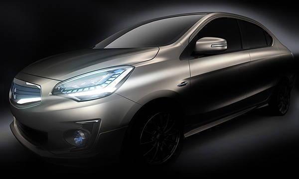 TopGear.com.ph Philippine Car News - Mitsubishi to reveal compact sedan concept