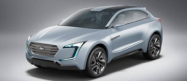 TopGear.com.ph Philippine Car News - Subaru reveals new design direction in Viziv Concept