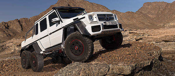 TopGear.com.ph Philippine Car News - Mercedes-Benz creates G63 AMG 6x6