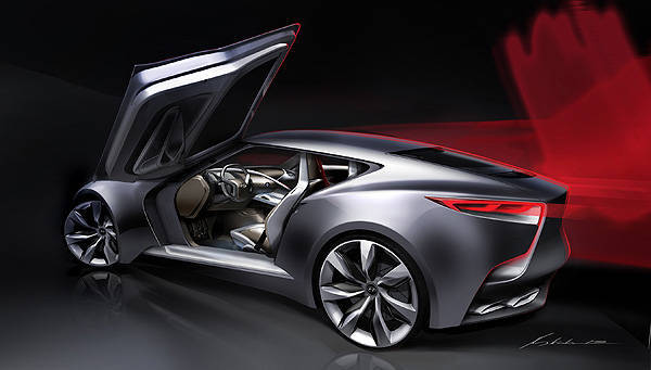 TopGear.com.ph Philippine Car News - Hyundai comes up with luxury sports coupe concept