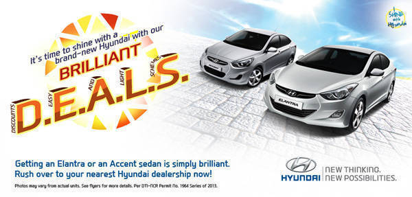 TopGear.com.ph Philippine Car News - Hyundai Brilliant DEALS make owning an Elantra, Accent easy