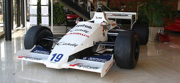 TopGear.com.ph Philippine Car News - Ayrton Senna's first F1 car to be auctioned off