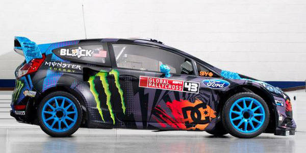 Hoonigan Racing/M-Sport Ford Fiesta ST RX43