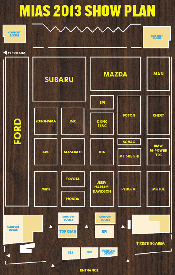 MIAS 2013 floor plan