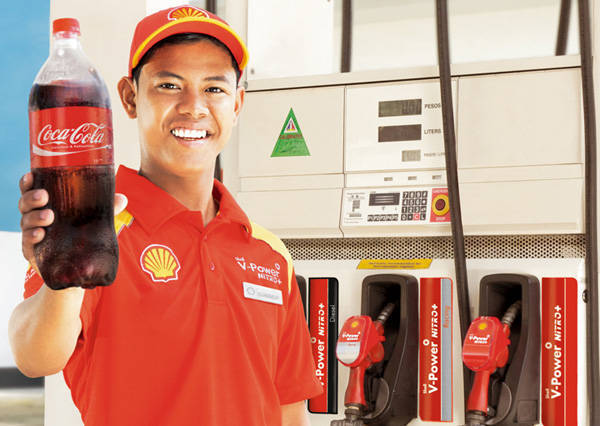 TopGear.com.ph Philippine Car News - Shell wants its customers to get refreshed with Coca-Cola