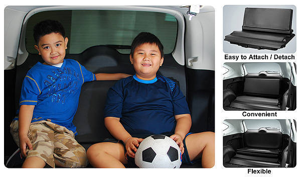 Honda CR-V accessory third-row seat