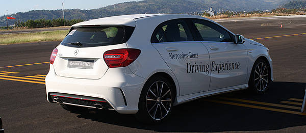 TopGear.com.ph Philippine Car News - Mercedes-Benz PH lets us drive the all-new A-Class in anger