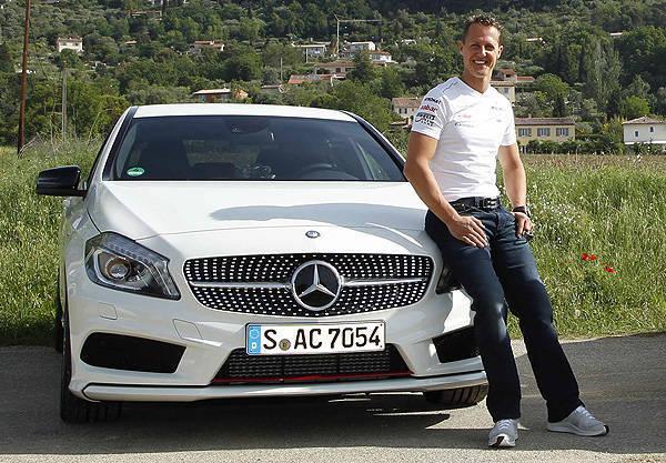 TopGear.com.ph Philippine Car News - Schumacher signs long-term partnership with Mercedes-Benz